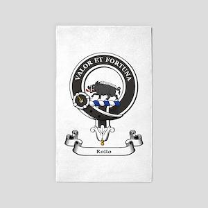 Badge-Rollo [Powhouse] Area Rug